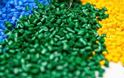 Proceso de reciclado del plástico
